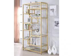 giana gold frame modern bookshelf jpg