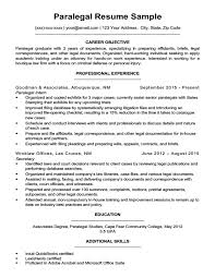 Boutique Owner Resume Paralegal Resume Sample Writing Tips Resume Companion
