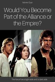 Dark Side Or Light Side Star Wars Quiz