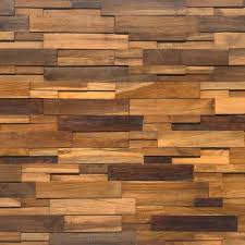 multi teak wood wall panel