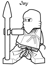 Small Picture Lego Ninja Go Jay the Blue Ninja of Lighting Coloring Pages