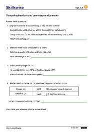 Fractions Decimals And Money Worksheets Worksheets for all ...