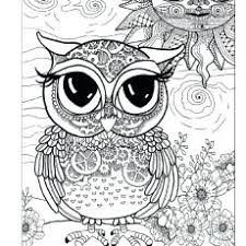 Projects Ideas Owl Coloring Pages Print Free Printable Cute For