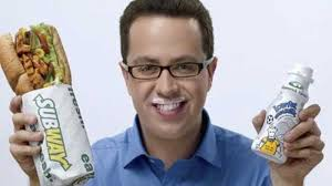 jared form subway the brainwashed housewife your subway sandwich spokesman jared had