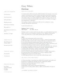 Registered Dietitian Resume Custom Dietitian Resume Sample Resume Reviews