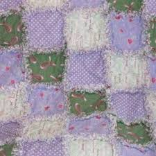 7 best Rag Quilts for Sale images on Pinterest | Rag quilt, Breast ... & Breast Cancer Green Purple Pink Ribbon 50
