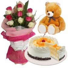 In case of unavailability, the ordered cake variant will be replaced with another available cake variant of equal value. 12 Mixed Roses Bouquet Bear With Coffee Crunch Cake Delivery To Manila Philippines