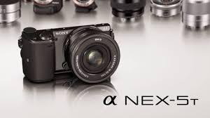 sony nex 5. sony nex-5t unveiled (16.1mp aps-c, nfc, wifi, 3\ nex 5