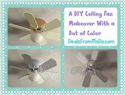 polka dot ceiling fan via dealsfrommsdo