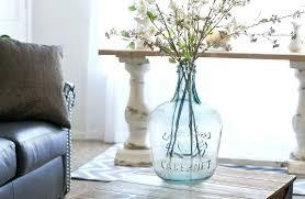 glass jug vases glass jug vase hearth handtm with magnolia