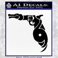 florida gators s hurricanes d1 decal sticker black vinyl 120x120