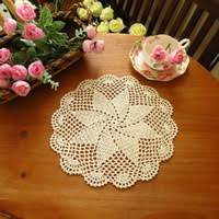 Wholesale Crochet <b>Cup Placemat</b>