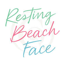 Submitted 6 months ago by autisticatman. Resting Beach Face Svg Dxf Vacation Cutting Craft Genesis