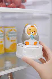 Kakao Friends có máy khử mùi tủ lạnh xinh xỉu lại còn tiết kiệm điện, nhiều  nhà muốn sắm lắm đây