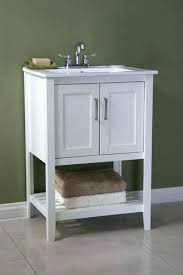 bathroom vanity and sink legion inch traditional white finish without faucet 3 drilled 24 betio single