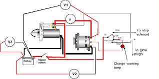 marine alternator wiring diagram efcaviation com alternator to battery wiring diagram at Battery Starter Alternator Wiring Diagram