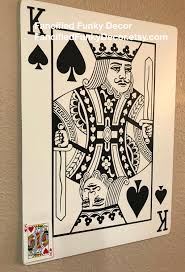 Face Card Design Face Card Large Playing Card Oversize Card Jack Queen