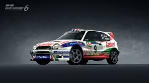 Toyota COROLLA Rally Car '98 | Gran Turismo 6 | kudosprime.com