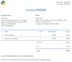 Prepare Invoice How To Prepare An Invoice