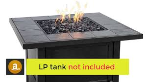 endless summer gad1399sp lp gas outdoor fire bowl with slate tile mantel