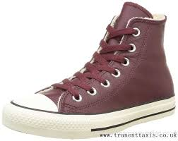 converse 6 5 womens. bo49005455 united kingdom converse all star seasonal hi deep bordeaux womens leather trainers burgundy w 6.5 6 5