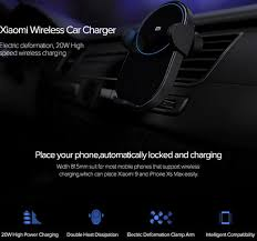 <b>Xiaomi Mi</b> WCJ02ZM <b>20W Max Qi</b> Car Wireless Charger with ...