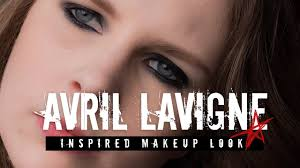 tutorial avril lavigne smokey eye inspired makeup look kazzified29