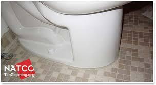toilet with new caulk