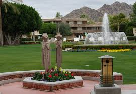 replicas of the midway gardens sprites at the arizona biltmore