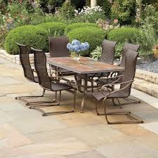 granite patio table chairs