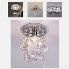 crystal chandelier ceiling light lamp rain drop pendant living room