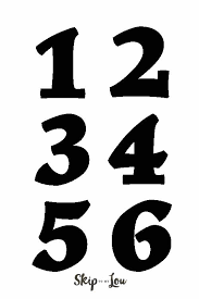 Number Templates Skip To My Lou