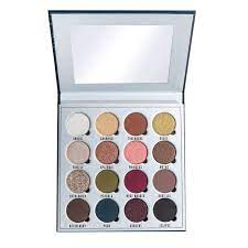 eyeshadow and pigment palette makeup