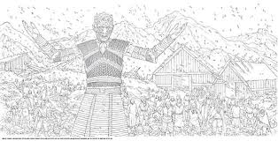 The Official Hbos Game Of Thrones Coloring Book Gets New Spread