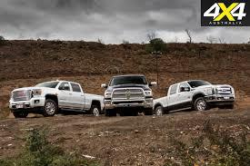 American Pick-up truck comparison