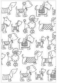 Cani 31731 Cani Disegni Da Colorare Per Adulti