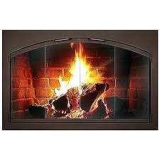 wood burning fireplace doors canada