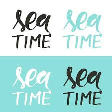 Sea Quotes Magnificent Sea Quotes Hand Lettering Illustration For Your Design My Home