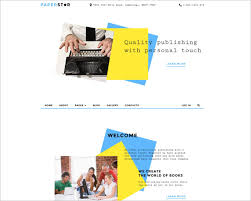 book publishing templates publishing company joomla templates free premium creative