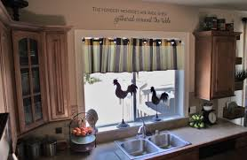 Rooster Kitchen Curtains Cute Rooster Kitchen Curtains All About Countertop