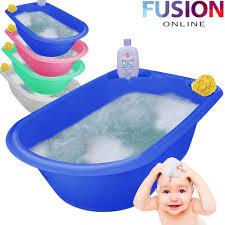 jumbo x large baby bath tub plastic washing time big toddler basket baby bath