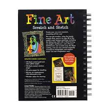 Image Office Desk Fine Art Scratch And Sketch Cool Art Activity Book For Budding Fine Artists Of Moma Design Store Fine Art Scratch And Sketch Cool Art Activity Book For Budding
