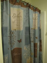 bathroom accessories set walmart. butterfly blessings shower curtain trust serve praise believe blue brn bathroom accessories set walmart