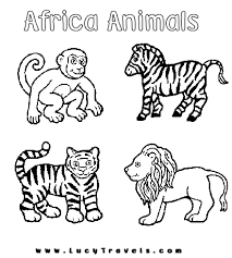 Amazing Coloring Pages Animal Coloring Pages Toddler Activities