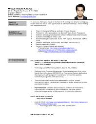 Cover Letter Spanish Resume Template Spanish Resume Template