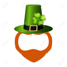 template of a leprechaun template face leprechaun on st patrick s day royalty free cliparts