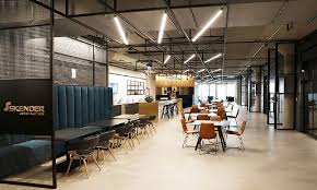 New office ideas Concept When Skender Designed Their Own New Offices They Included Techinfused Collaboration Spaces Midwest Real Estate News Borrow From The Best Workplace Ideas From Tech Hqs
