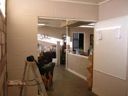 Paint Cinder Block Wall Artistic Expressions Painting Decorating Before After