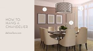 what is the standard height of a dining room table what size dining room chandelier do