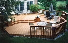 backyard wood deck deck patio backyard wood decks and patios small beautiful outdoor decking wood plastic